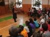 Vánoční besídka v tělocvičně školy 21.12.2012
