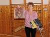 Vysvědčení za 1.pololetí - předávání pochval a důtek v ředitelně školy