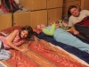 Spaní ve škole 5.10.2012