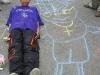 Den dětí - malujeme na asfalt