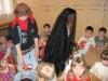 Masopustní rej v tělocvičně školy
